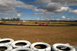 Mark Skaife and Marcos Ambrose already stretching their lead over the field