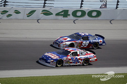 Todd Bodine and Jeff Burton