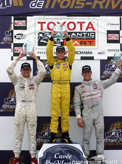 A.J. Allmendinger, Ryan Dalziel and Michael Valiante