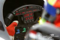 Olivier Beretta's steering wheel