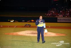 Visit at a St. Louis Cardinals baseball game: Jack Arute