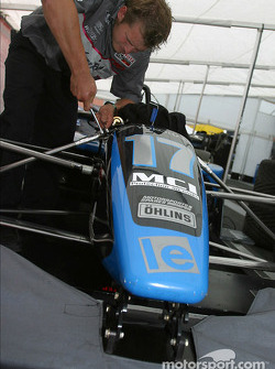 Lynx Racing paddock area