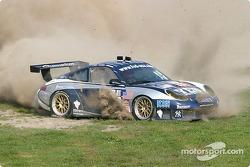 #43 Orbit Racing Porsche 911 GT3 RS: Marc Lieb, Peter Baron in trouble