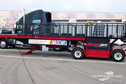 NASCAR tech chassis dyno