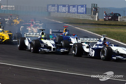 Start: Ralf Schumacher and Juan Pablo Montoya