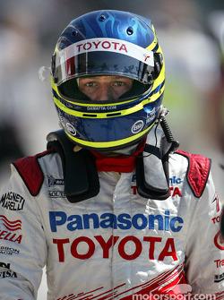 Cristiano da Matta on starting grid