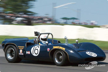 #16 1967 Lola T70 Mk IIIb, originally driven by Mark Donohue, owned by Steven Young