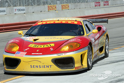 #28 JMB Racing USA/Team Ferrari Ferrari 360 Modena comes in for a pit stop