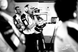 Jock Clear and Jacques Villeneuve