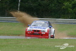 #69 Marcus Motorsports BMW M3: Brian Cunningham, Hugh Plumb, Cory Friedman goes wide