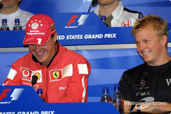Thursday FIA press conference: Michael Schumacher and Kimi Raikkonen