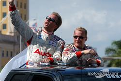 Drivers presentation: JJ Lehto and Johnny Herbert