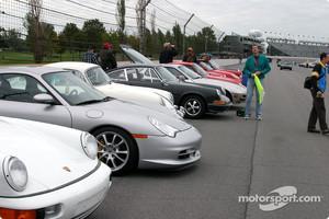 Porsche parking