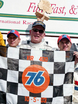 DP podium: race winners Terry Borcheller, Forest Barber and Andy Pilgrim