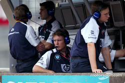 Williams-BMW pitwall