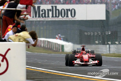 World champion Michael Schumacher