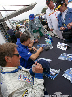 Autograph session: Tom Weickardt, Jean-Phillippe Belloc and Eric Cayrolle