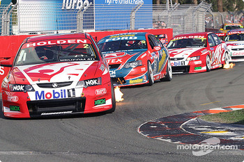 Mark Skaife leads the pack