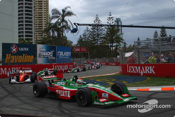 First lap: Adrian Fernandez