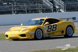 #88 Scuderia Ferrari of Washington Ferrari 360 Challenge: Nick Longhi, Emil Assentato