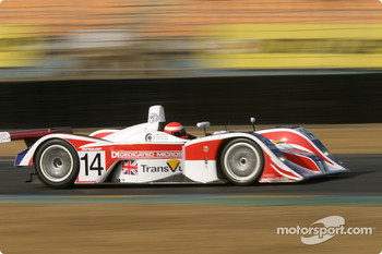 #14 RML MG Lola EX 257: Mike Newton, Thomas Erdos, Chris Goodwin