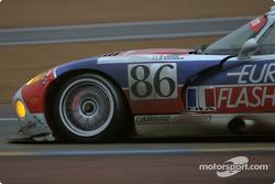 #86 Larbre Competition Chrysler Viper GTSR: Christophe Bouchut, Vincent Vosse, Sébastien Dumez