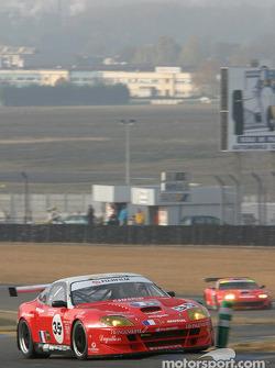 #35 XL Racing Ferrari Maranello: Gaël Lesoudier, Gilles Vannecet, Pierre-François Rousselot