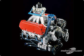 Toyota Tundra NASCAR Craftsman Series Truck engine
