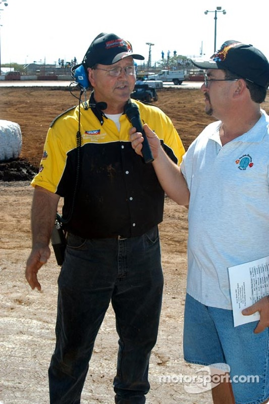 USAC Race Director Hal Burns wraps up the weekend