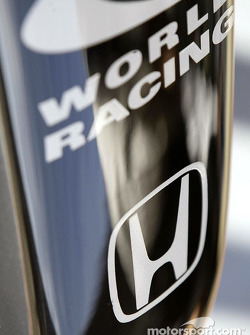 Detail of the 2004 BAR-Honda development car