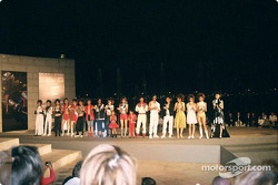Grand Prix party fashion show