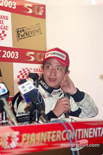 Press conference: Tatsuyuki Hiranaka