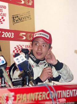 Press conference: Tatsuyuki Hiranaka