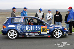 #99 Toyo Endless 5 Zigen: Steve Ellsworth, Thomas Okihisa, John McNulty, Jerry Brown, Tsuyoshi Higashi, Andy Hope
