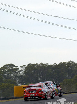 Russell Ingall and Mark Skaife before the incident