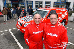 Nissan Dessoude team presentation: René Metge and Bernard Chevalier