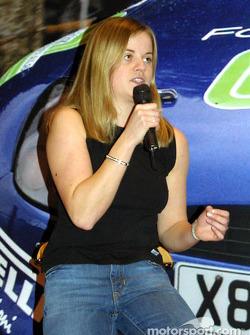 Susie Stoddart talks about Formula Renault