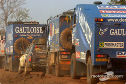 Gauloises de Rooy trucks
