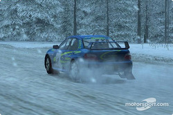 Screen shot of Colin McRae Rally 4