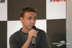 Nicolas Kiesa interview on Autosport Stage