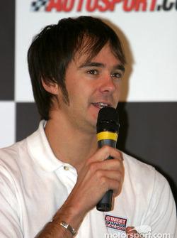 Darren Manning interview on Autosport Stage