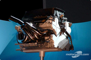 Engine of the new Renault R24