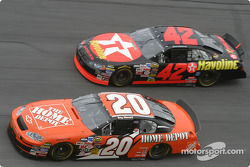 Tony Stewart and Jamie McMurray