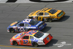 Ricky Craven, Mike Skinner and Matt Kenseth