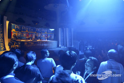 Mild Seven pit party at the Zouk Nightclub in Kuala Lumpur