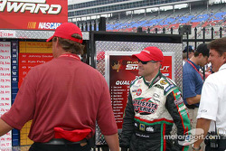 Bobby Labonte enters victory lane