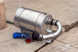 Cooling system part for qualifying