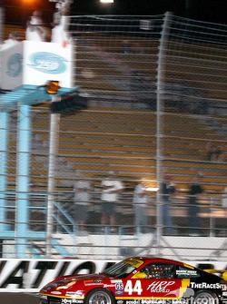 #44 The Race Site.com Porsche 996: Craig Stanton, Terry Borcheller takes the checkered flag