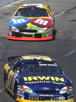 Kurt Busch and Elliott Sadler