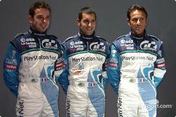 Benoit Treluyer, Soheil Ayari and Erik Comas